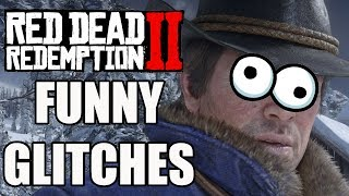 Red Dead Redemption 2 - 15 Funny Glitches And Hilarious Moments You Need To See