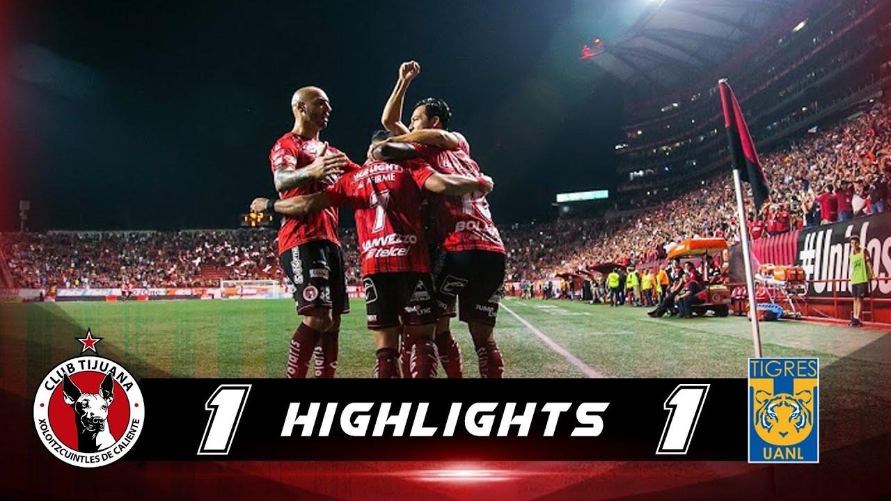 Resumen | Tijuana 1 - 1 Tigres UANL | Liga MX - Apertura 2019  - Jornada 9 | Xolos