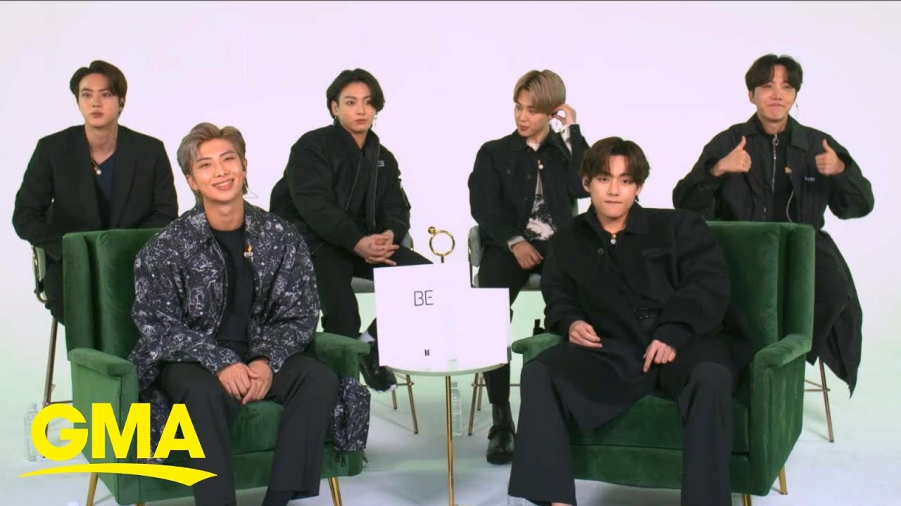 BTS on how they made new music during pandemic l GMA