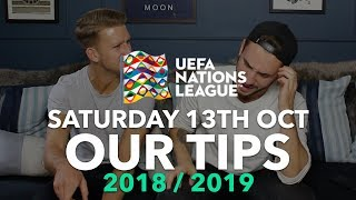 UEFA Nations League Tips - Saturday 13th October