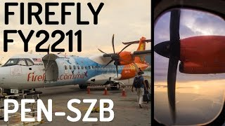 Firefly FY2211 : Flying from Penang to Kuala Lumpur