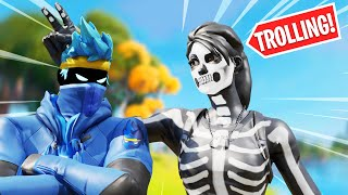 MYTH HAS GOT TΟ BE TROLLIN?! - FORTNITE DUOS