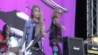 Steel Panther - Eyes Of A Panther @ Sauna Open Air 10.6.2010