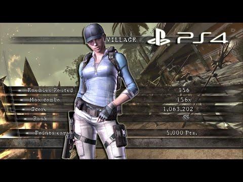 Village Solo 1,063,202 BSAA Jill | Resident Evil 5 PS4 Mercenaries United