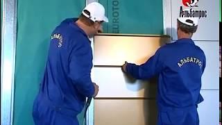видео Вентилируемый фасад из композитного алюминия (алюкобонда), монтаж алюминиевых композитных панелей в Твери