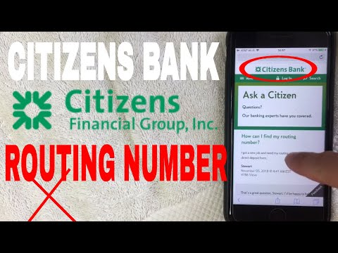 ✅  Citizens Bank ABA Routing Number - Where Is It? 🔴