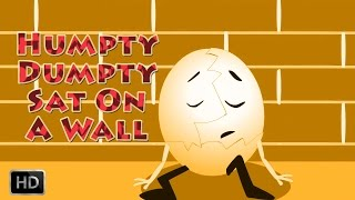 Humpty Dumpty Sat On A Wall NURSERY RHYMES Popular Rhymes Collection For Kids