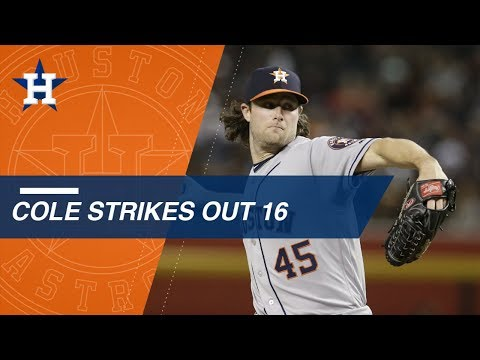 Cole K's career-high 16 in one-hit shutout