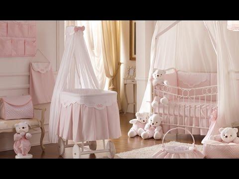 Дизайн комнаты для малышки. Идеи оформления детской для новорожденной.Design For A Newborn Girl.