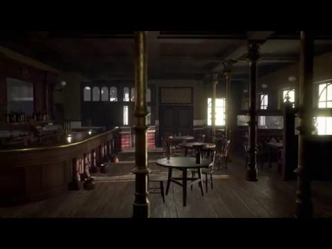 Peaky Blinders Pub Environment