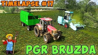 Farming simulator 17 | PGR Bruzda with seasons | Timelapse ep#17