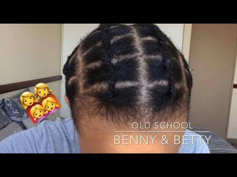 HOW TO PLAIT YOUR OWN HAIR  BENNY  BETTY  AFRICAN THREADING  SOUTH AFRICAN YOUTUBER  YouTube