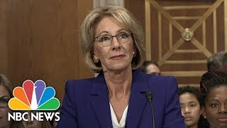 Betsy DeVos Faces Off Against Democrats in Hearing for Secretary of Education | NBC News