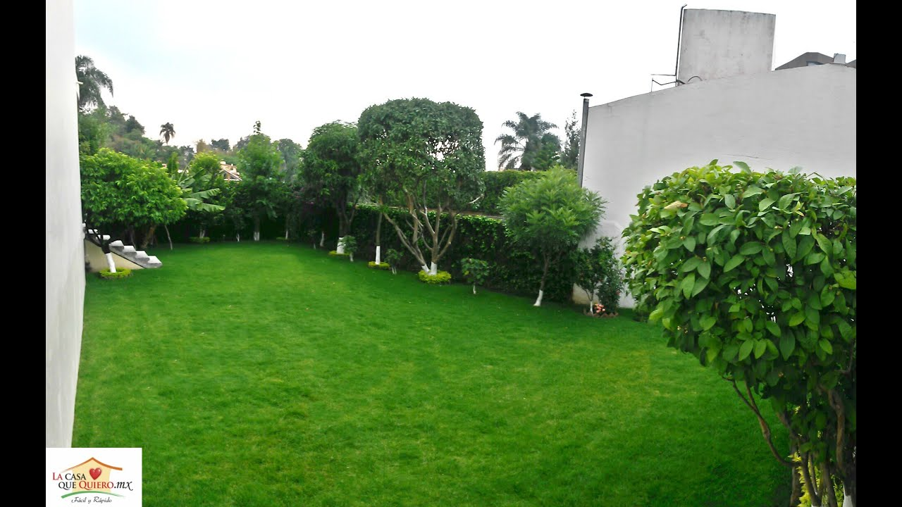 Jard n con rboles frutales casa en venta rancho cortes con seguridad youtube - Arboles bonitos para jardin ...