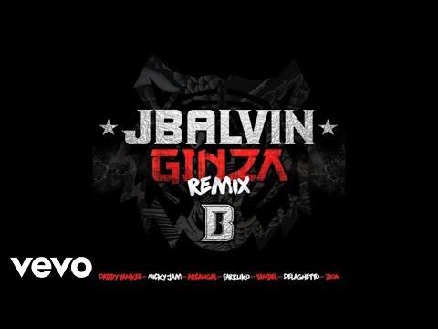 J. Balvin - Ginza (Remix/Audio)