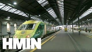 アイルランドの旅6🇮🇪特急列車でダブリン ヒューストン駅からコーク ケント駅、ローカル線でコーヴ駅。/ Cork & Cobh, Ireland Travel #6【電車 鉄道】