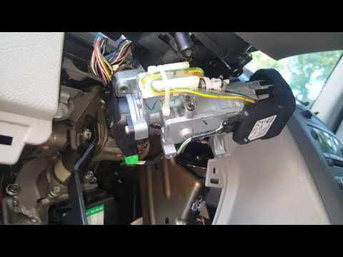 How To Replace The Power Steering Motor Assembly 2008 Chevy Hhr