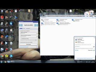 налаштування роздачі вай-фай з пк або ноутбука MyPublicWiFi( частина третя )а так само русифікація