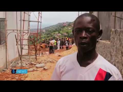 Sierra Leone mudslide survivor tells his harrowing story