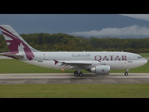 [FullHD] RARE Qatar Amiri Flight Airbus A310-300 takeoff at