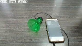 Membuat speaker dari botol bekas