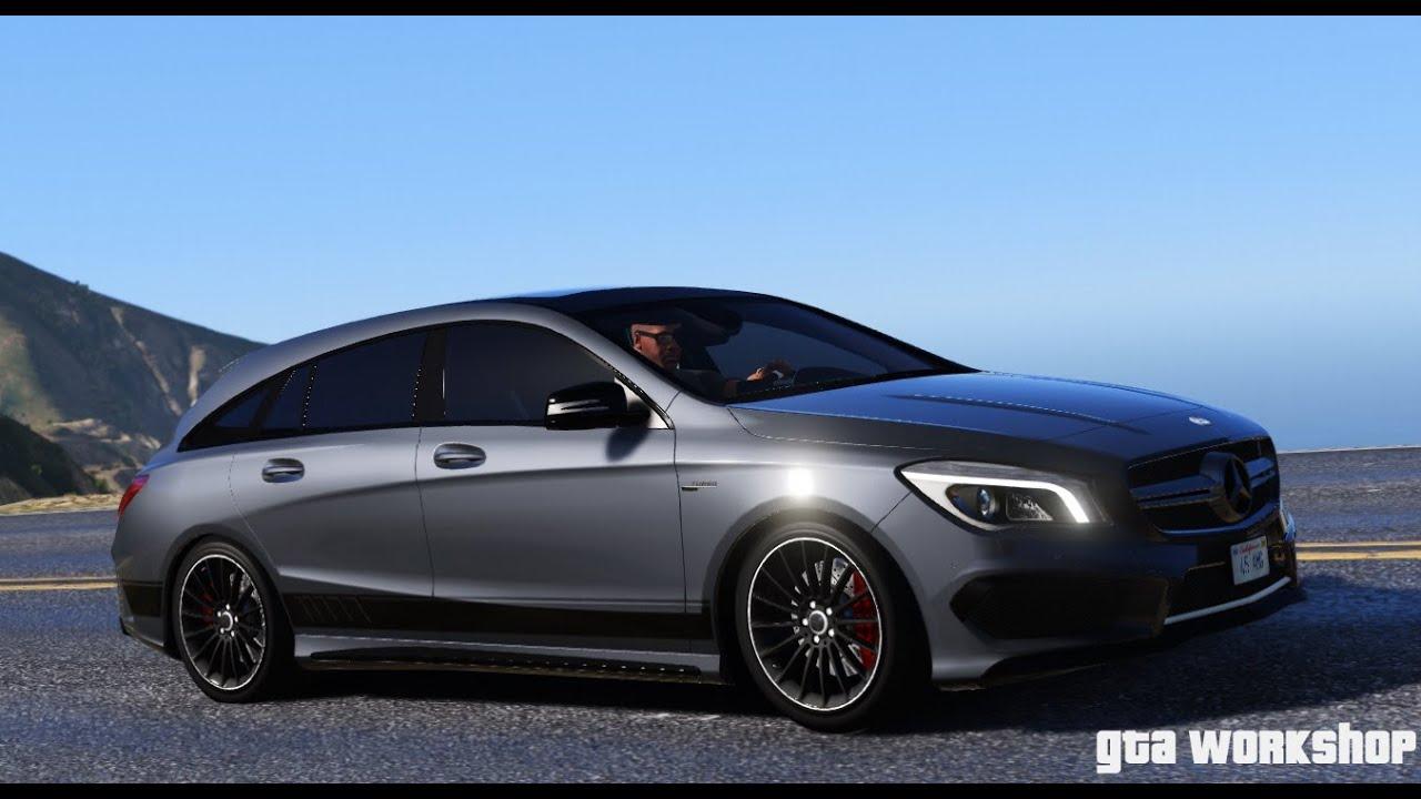 GTA 5 MOD | Mercedes-Benz CLA 45 AMG - Shooting Brake ...