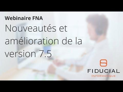 Webinaire 100% Télé@ctes FNA #8 : Nouveautés et amélioration de la version 7.5