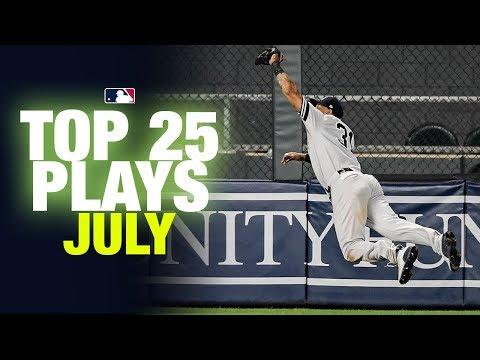 Top 25 MLB Plays of July | MLB Highlights