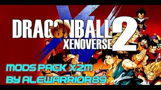 DRAGON BALL XENOVERSE 2 - PC MODS PACK OF MY CHARACTERS