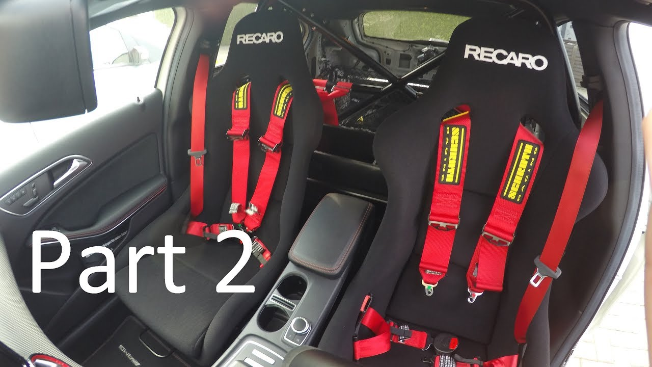 Building My Own Tracktool 11 Mounting Recaro Pole Postion Seats Part 2 Youtube