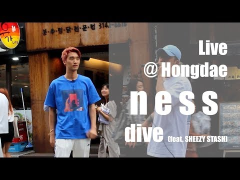 ness 'dive' busking liveㅣ[WORKNESS]ㅣness