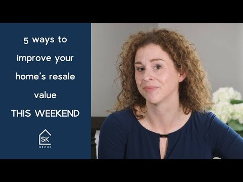 5 ways to improve your home's value THIS WEEKEND!