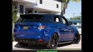 2016 Land Rover Range Rover Sport SVR at Naples Motorsports with Eric Matthews