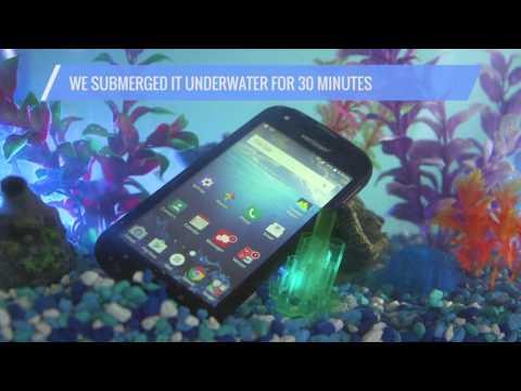 Kyocera DuraForce Pro Rugged Phone  Water Tank Test