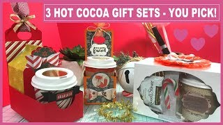 3 Hot Cocoa Gift Sets - You Pick! Great for Craft Fairs - Coworkers - Teachers - Hostess & more!