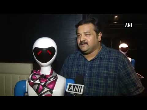 Robots replace waiters in a Chennai restaurant Check Out the v
