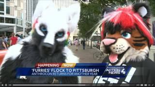 Anthrocon 2017 Segment - WTAE Pittsburgh Action News 4