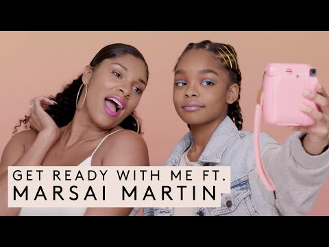 GRWM FT. MARSAI MARTIN | FENTY BEAUTY
