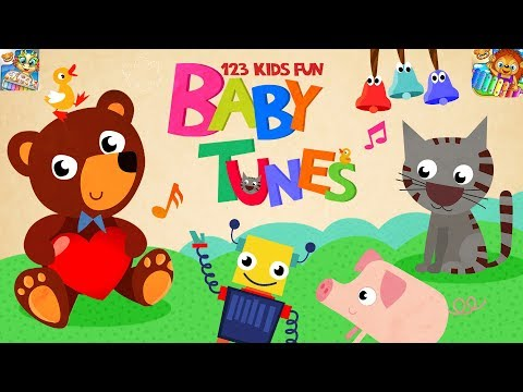 123 Kids Fun Ba Tunes  Learn Kid how to Play Musical Instruments Educational