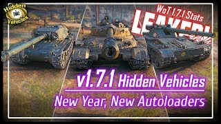v1.7.1 Hidden Vehicles Preview - Leaked!-ish || World of Tanks