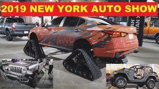 Автосалон в Нью-Йорке 2019 (4K)