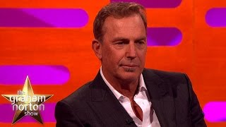 Kevin Costner and Ricky Gervais Tell Weird Stories About Wolves - The Graham Norton Show