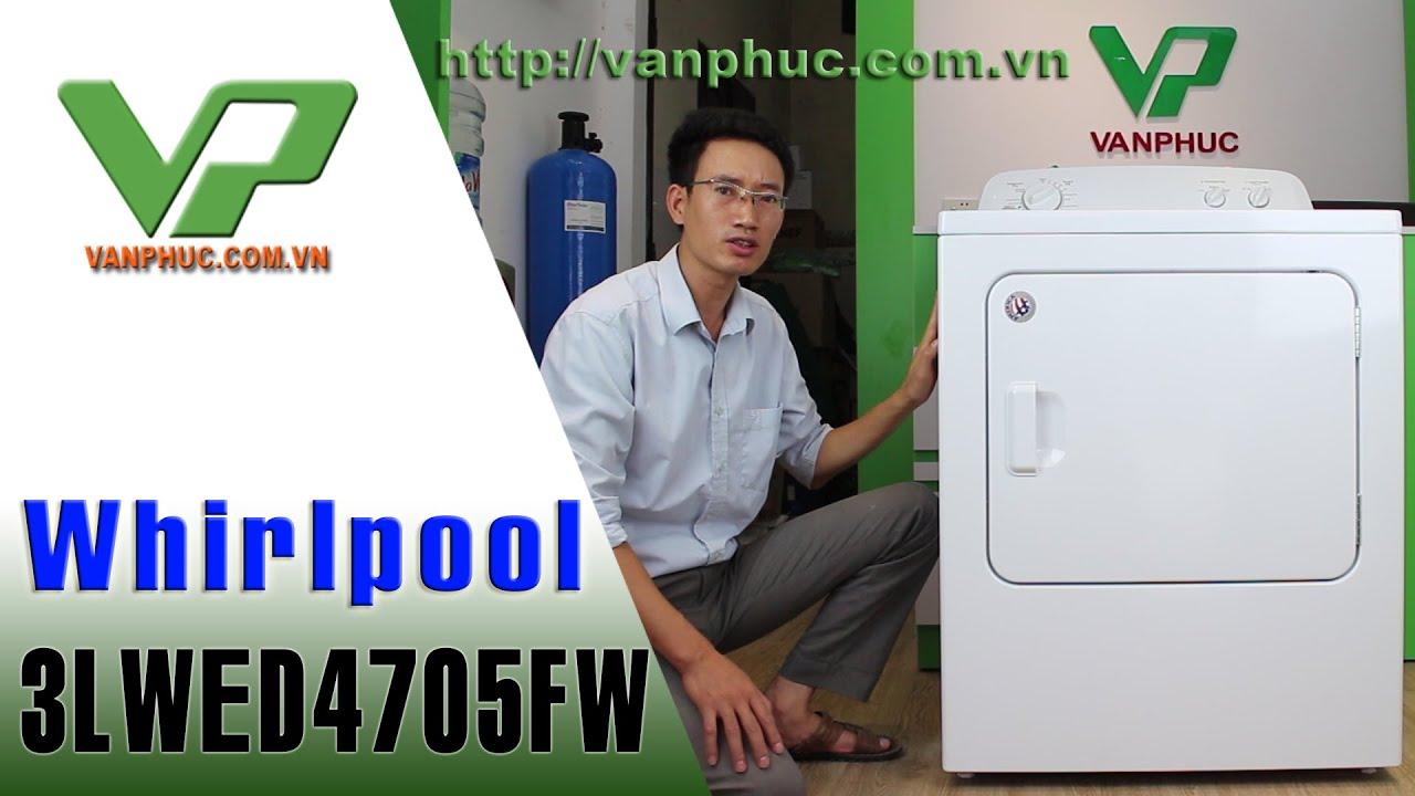 Máy sấy quần áo Whirlpool 3LWD4705FW sản xuất tại Mĩ