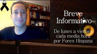 Breve Informativo - Noticias Forex del 1 de Noviembre 2018