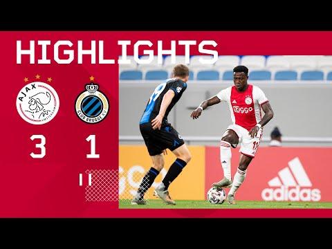 Highlights Ajax - Club Brugge   Oefenduel