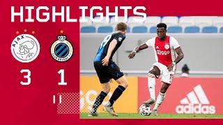 Highlights Ajax - Club Brugge | Oefenduel