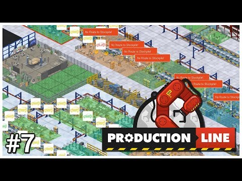 Production Line - #7 - Hybrid Solutions - Let's Play / Gameplay / Construction