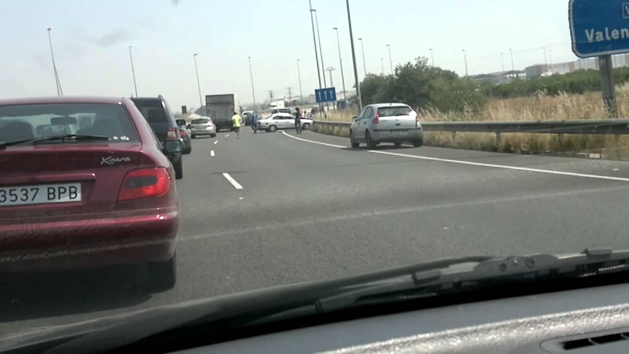 Accidente en la pista de silla youtube - Toyota pista silla ...