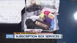 A look at available subscription box services thumbnail
