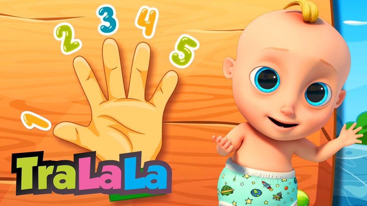 Numărătoarea + alte cântece educative pentru copii de grădiniță | TraLaLa